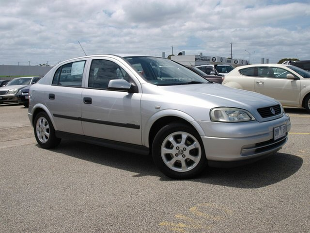 Used Holden Astra TS Equipe, 2001 Holden Astra TS Equipe Silver 4 Speed Automatic Hatchback