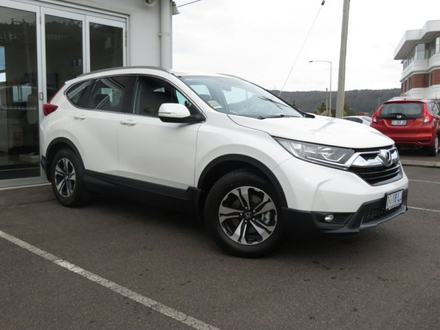 Demo Honda CR-V RW MY20 VTi FWD, 2019 Honda CR-V RW MY20 VTi FWD White Orchid 1 Speed Constant Variable Wagon