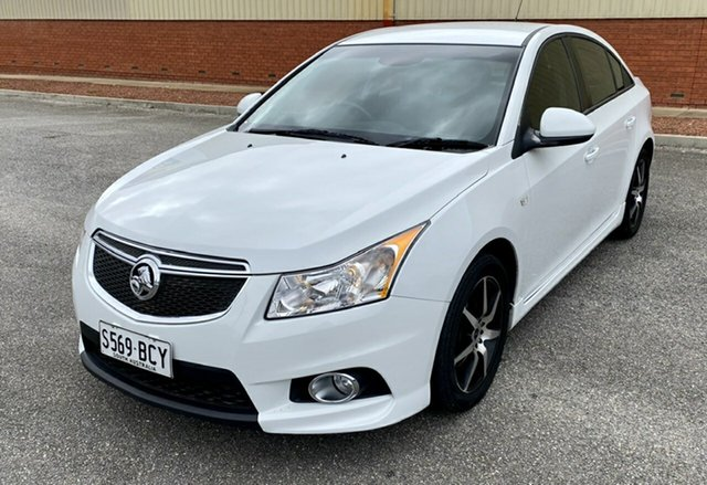 Used Holden Cruze JH Series II MY14 SRi, 2014 Holden Cruze JH Series II MY14 SRi White 6 Speed Sports Automatic Sedan