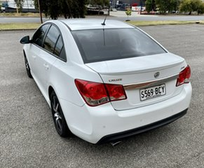 2014 Holden Cruze JH Series II MY14 SRi White 6 Speed Sports Automatic Sedan.