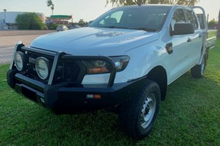 2017 Ford Ranger PX MkII 2018.00MY XL Double Cab Plus White 6 Speed Sports Automatic Utility
