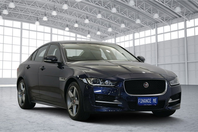 Used Jaguar XE X760 MY17 25t R-Sport, 2017 Jaguar XE X760 MY17 25t R-Sport Blue 8 Speed Sports Automatic Sedan