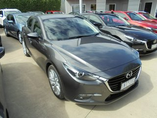2018 Mazda 3 BN5278 Maxx SKYACTIV-Drive Sport Silver 6 Speed Sports Automatic Sedan.