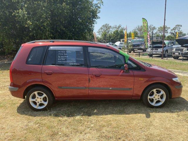 Used Mazda Premacy  , 2001 Mazda Premacy Red 5 Speed Manual Hatchback