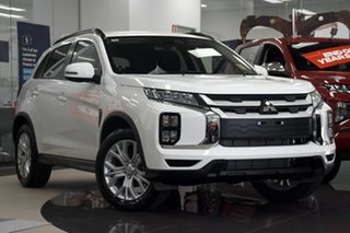 2020 Mitsubishi ASX XD MY21 LS (2WD) White Continuous Variable Wagon.
