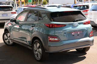 2020 Hyundai Kona OSEV.2 MY20 electric Elite Ceramic Blue 1 Speed Reduction Gear Wagon.