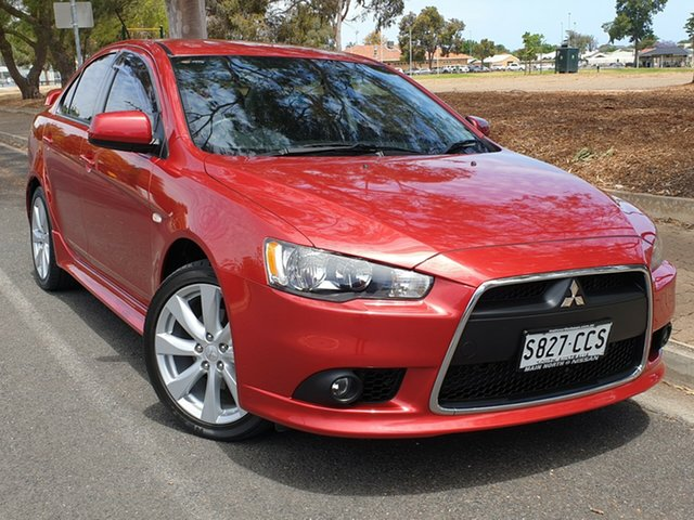 Used Mitsubishi Lancer CJ MY13 VR-X, 2013 Mitsubishi Lancer CJ MY13 VR-X Red 6 Speed Constant Variable Sedan