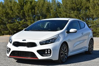 2014 Kia Pro_ceed JD MY14 GT-Tech White 6 Speed Manual Hatchback