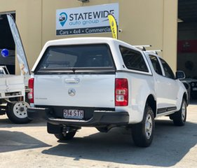 2012 Holden Colorado RG MY13 LT Crew Cab 4x2 White 5 Speed Manual Utility.