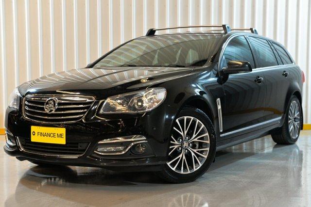 Used Holden Calais VF II MY16 Sportwagon, 2016 Holden Calais VF II MY16 Sportwagon Black 6 Speed Sports Automatic Wagon