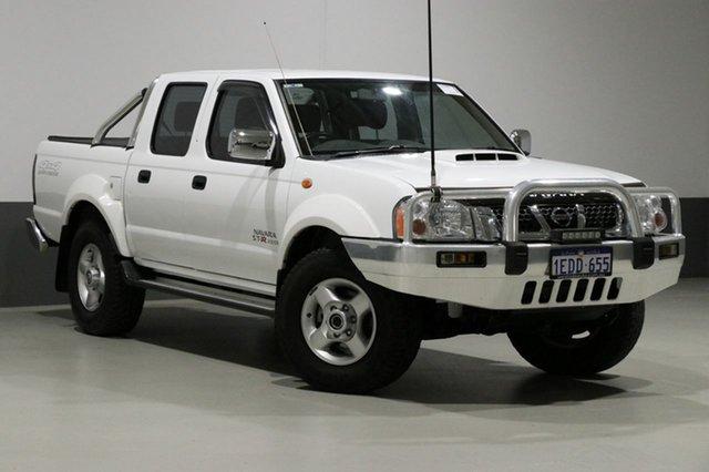 Used Nissan Navara D22 Series 5 ST-R (4x4), 2013 Nissan Navara D22 Series 5 ST-R (4x4) White 5 Speed Manual Dual Cab Pick-up