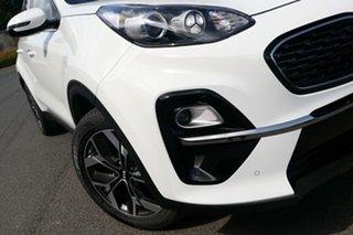 2021 Kia Sportage QL MY21 SX+ 2WD Clear White 6 Speed Sports Automatic Wagon.