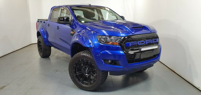 Used Ford Ranger PX XLS Double Cab, 2015 Ford Ranger PX XLS Double Cab Blue 6 Speed Manual Utility
