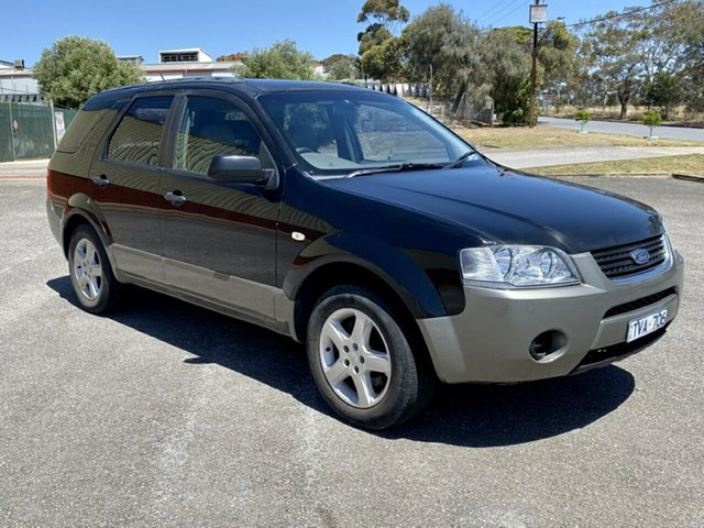 Used Ford Territory SX TS, 2004 Ford Territory SX TS Black 4 Speed Sports Automatic Wagon