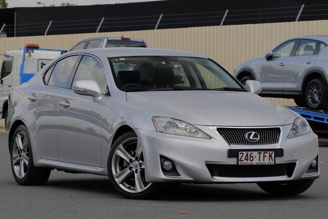 Used Lexus IS GSE20R MY11 IS250 Prestige, 2011 Lexus IS GSE20R MY11 IS250 Prestige Silver 6 Speed Sports Automatic Sedan