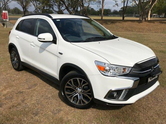 Used Mitsubishi ASX XC MY18 LS (2WD), 2017 Mitsubishi ASX XC MY18 LS (2WD) White Continuous Variable Wagon
