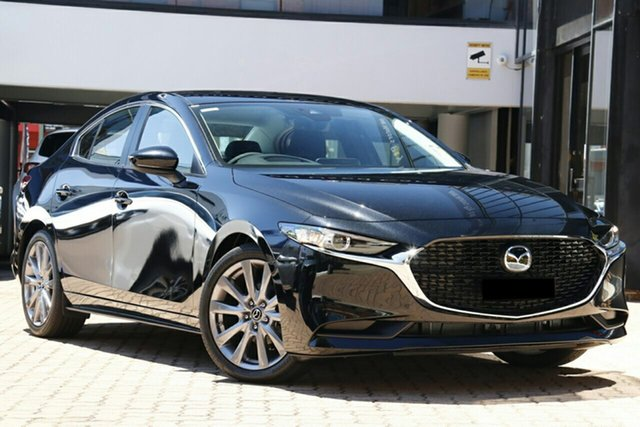 New Mazda 3 BP2S7A G20 SKYACTIV-Drive Evolve Liverpool, 2020 Mazda 3 BP2S7A G20 SKYACTIV-Drive Evolve Jet Black 6 Speed Sports Automatic Sedan