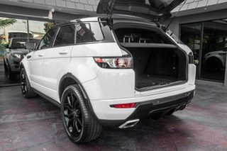 2012 Land Rover Range Rover Evoque L538 MY13 Si4 CommandShift Dynamic White 6 Speed Sports Automatic
