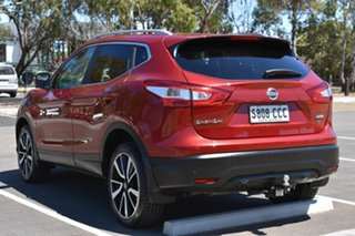 2015 Nissan Qashqai J11 ST Red 1 Speed Constant Variable Wagon