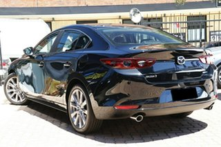 2020 Mazda 3 BP2S7A G20 SKYACTIV-Drive Evolve Jet Black 6 Speed Sports Automatic Sedan.