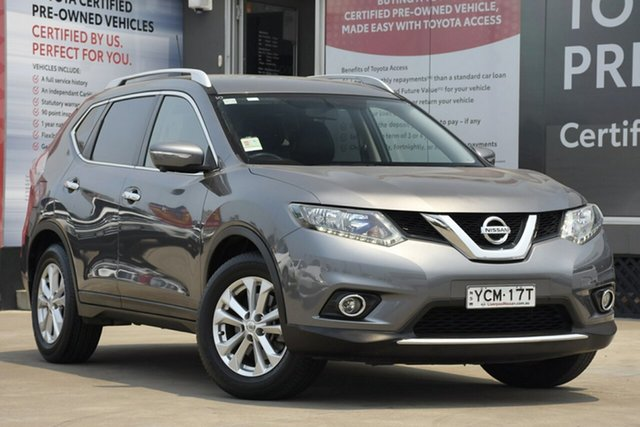 Used Nissan X-Trail T32 ST-L (FWD), 2014 Nissan X-Trail T32 ST-L (FWD) Grey Continuous Variable Wagon