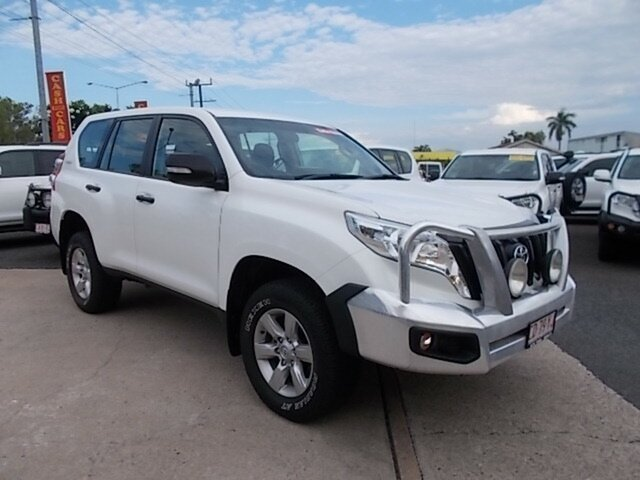 Used Toyota Landcruiser Prado GDJ150R GX, 2017 Toyota Landcruiser Prado GDJ150R GX White 6 Speed Sports Automatic Wagon