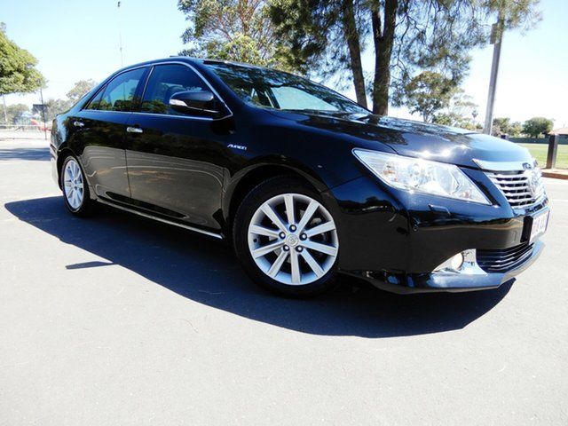 Used Toyota Aurion GSV50R Presara, 2013 Toyota Aurion GSV50R Presara Black/Grey 6 Speed Sports Automatic Sedan