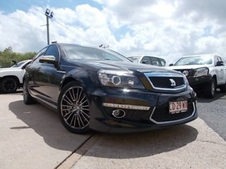 2011 Holden Special Vehicles Grange WM Series 3 MY12 Black 6 Speed Sports Automatic Sedan.