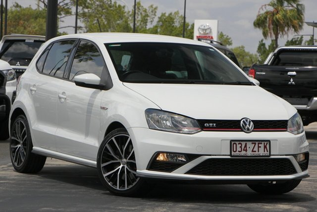 Used Volkswagen Polo 6R MY15 GTI DSG, 2015 Volkswagen Polo 6R MY15 GTI DSG White 7 Speed Sports Automatic Dual Clutch Hatchback