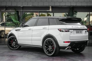 2012 Land Rover Range Rover Evoque L538 MY13 Si4 CommandShift Dynamic White 6 Speed Sports Automatic.