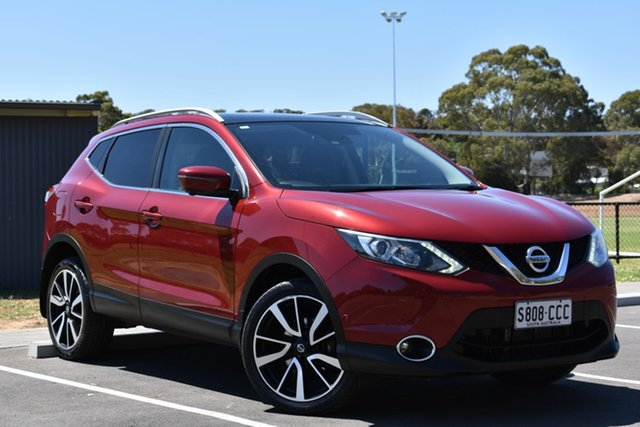 Used Nissan Qashqai J11 ST, 2015 Nissan Qashqai J11 ST Red 1 Speed Constant Variable Wagon