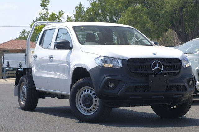 Used Mercedes-Benz X-Class 470 X250d 4MATIC Pure, 2017 Mercedes-Benz X-Class 470 X250d 4MATIC Pure White 6 Speed Manual Cab Chassis