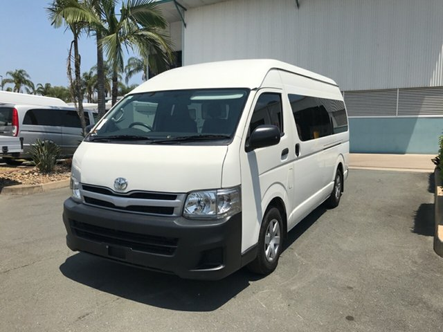 Used Toyota HiAce TRH223R MY11 Commuter High Roof Super LWB, 2011 Toyota HiAce TRH223R MY11 Commuter High Roof Super LWB French Vanilla 4 speed Automatic Bus