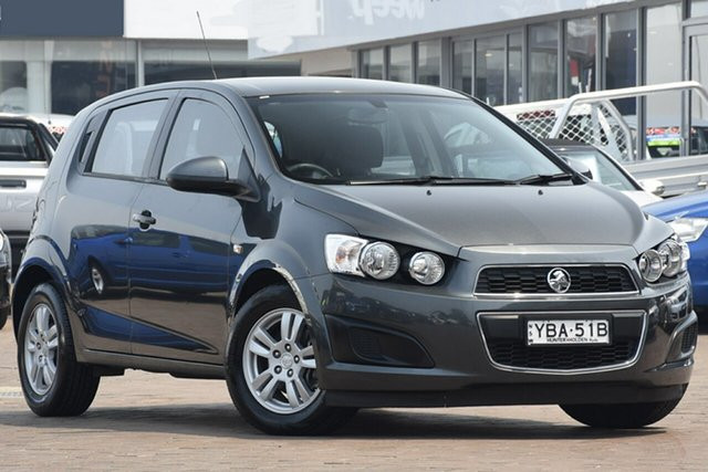 Used Holden Barina TM MY15 CD, 2015 Holden Barina TM MY15 CD Grey 6 Speed Automatic Hatchback