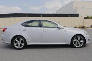 2011 Lexus IS GSE20R MY11 IS250 Prestige Silver 6 Speed Sports Automatic Sedan.