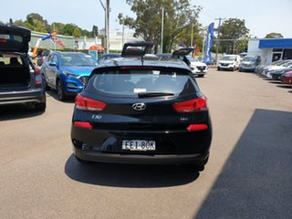 2018 Hyundai i30 PD MY19 Go D-CT Phantom Black 7 Speed Sports Automatic Dual Clutch Hatchback.
