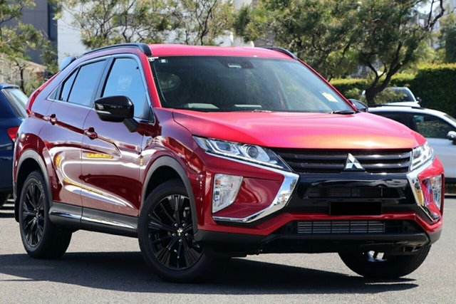 New Mitsubishi Eclipse Cross YA MY20 Black Edition 2WD, 2020 Mitsubishi Eclipse Cross YA MY20 Black Edition 2WD Red Diamond 8 Speed Constant Variable Wagon