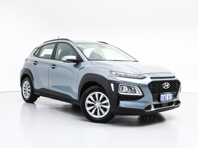 Demo Hyundai Kona OS.2 MY19 GO Safety (AWD), 2019 Hyundai Kona OS.2 MY19 GO Safety (AWD) Lake Silver 7 Speed Auto Dual Clutch Wagon