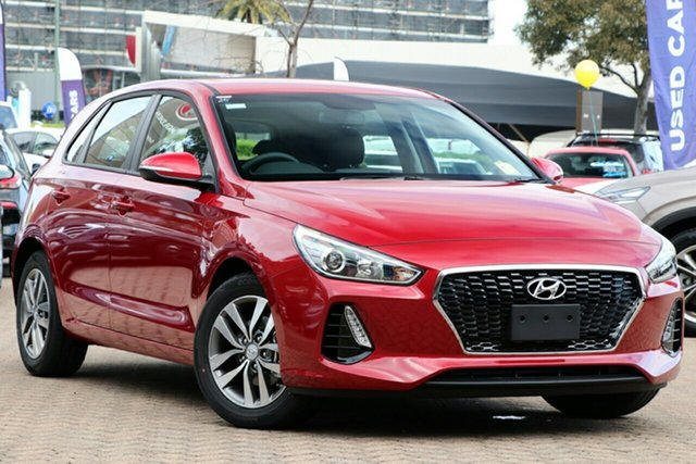 New Hyundai i30 PD2 MY20 Active, 2020 Hyundai i30 PD2 MY20 Active Fiery Red 6 Speed Sports Automatic Hatchback