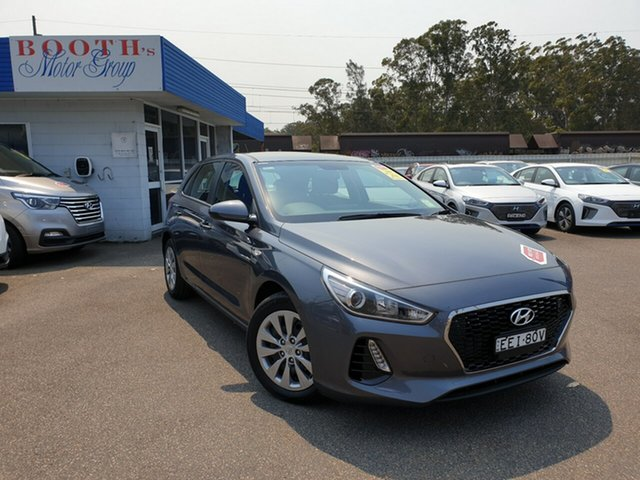 Demo Hyundai i30 PD MY19 Go, 2019 Hyundai i30 PD MY19 Go Iron Gray 6 Speed Sports Automatic Hatchback