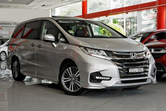 Demo Honda Odyssey RC MY19 VTi-L, 2019 Honda Odyssey RC MY19 VTi-L Super Platinum 7 Speed Constant Variable Wagon