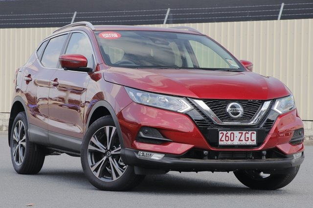Demo Nissan Qashqai J11 Series 2 ST-L X-tronic, 2019 Nissan Qashqai J11 Series 2 ST-L X-tronic Magnetic Red 1 Speed Constant Variable Wagon