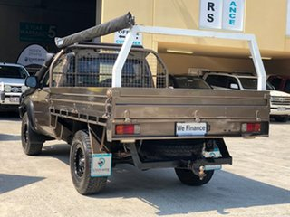 2008 Mazda BT-50 UNY0E3 DX Brown 5 Speed Manual Cab Chassis