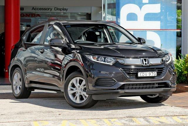 Demo Honda HR-V MY19 VTi, 2019 Honda HR-V MY19 VTi Ruse Black 1 Speed Constant Variable Hatchback
