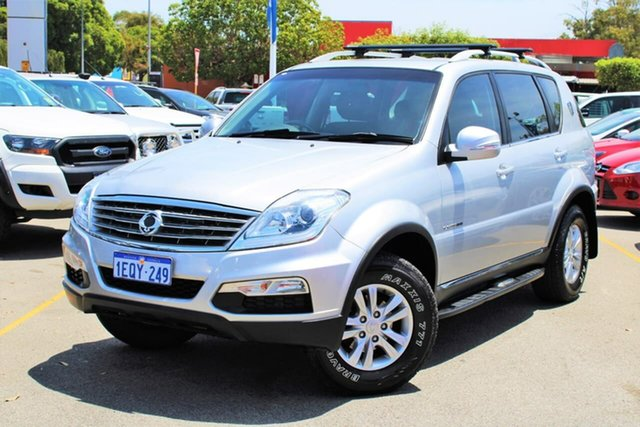 Used Ssangyong Rexton Y285 II MY14 SX, 2014 Ssangyong Rexton Y285 II MY14 SX Silver 5 Speed Sports Automatic Wagon