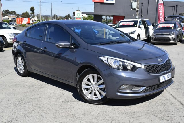 Used Kia Cerato YD MY15 S, 2015 Kia Cerato YD MY15 S Grey 6 Speed Sports Automatic Sedan