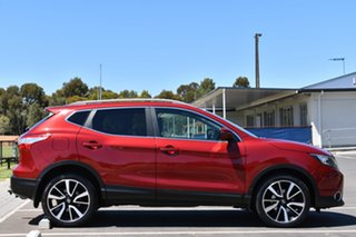 2015 Nissan Qashqai J11 ST Red 1 Speed Constant Variable Wagon.