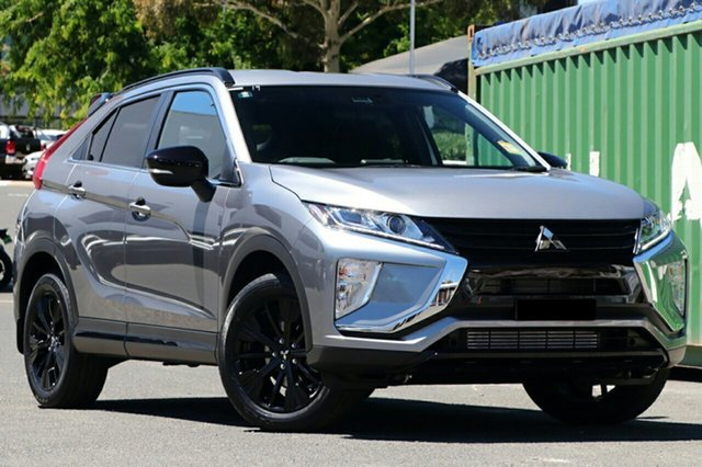New Mitsubishi Eclipse Cross YA MY20 Black Edition 2WD Cardiff, 2020 Mitsubishi Eclipse Cross YA MY20 Black Edition 2WD Titanium 8 Speed Constant Variable Wagon