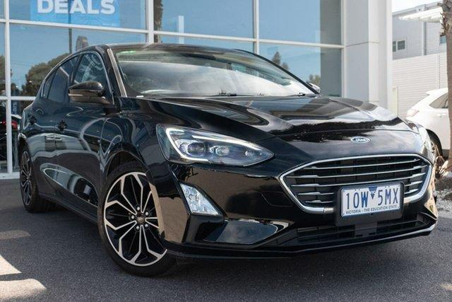Used Ford Focus SA 2019MY Titanium, 2018 Ford Focus SA 2019MY Titanium 8 Speed Automatic Hatchback