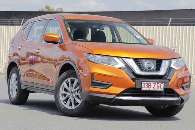 Demo Nissan X-Trail T32 Series II ST X-tronic 2WD, 2019 Nissan X-Trail T32 Series II ST X-tronic 2WD Copper Blaze 7 Speed Constant Variable Wagon
